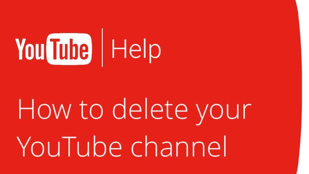 حذف کانال یوتوب