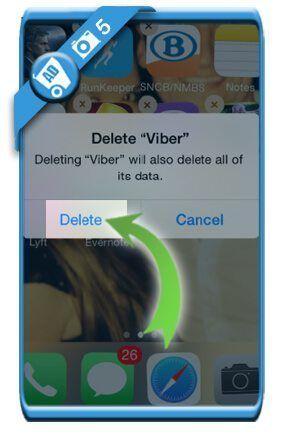 حذف اکانت وایبر (Viber)